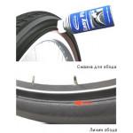 Замена покрышки и камеры на велосипеде>