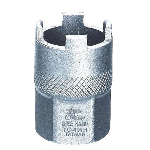 Съемник трещотки BIKEHAND YC-401H под 4-е шлица, сталь