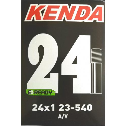 Камера велосипедная KENDA 24x1 (23/25-540), автониппель 35мм