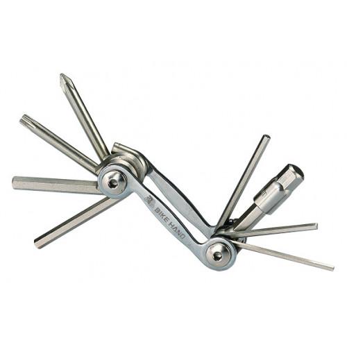 Набор шестигранников BIKEHAND YC-286N складной 2/2.5/3/4/5/6/8 мм, +/- отвертки, T25