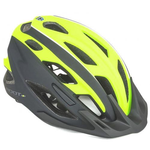 Шлем велосипедный женский AUTHOR ROOT спортивный, 2 козырька, 21 отверстие INMOLD/EPS/поликарбонат