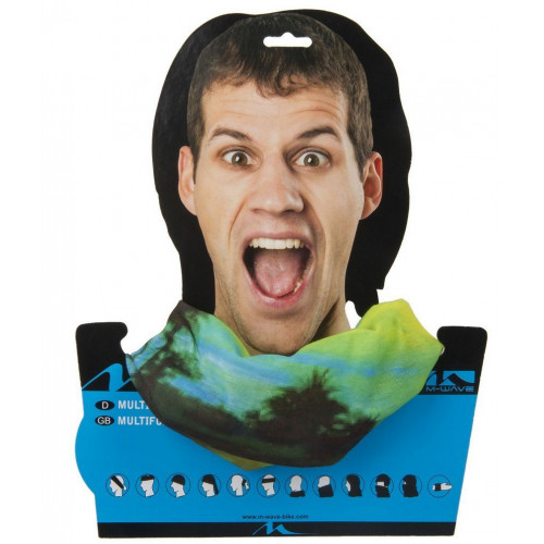 Бандана M-WAVE дышащий полиэстер с микрофиброй 24х48 см, без швов