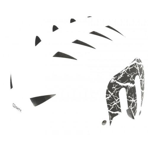 Шлем велосипедный MIGHTY X-STYLE котелок, для ВМХ/FREESTYLE, размер 60-63, белый