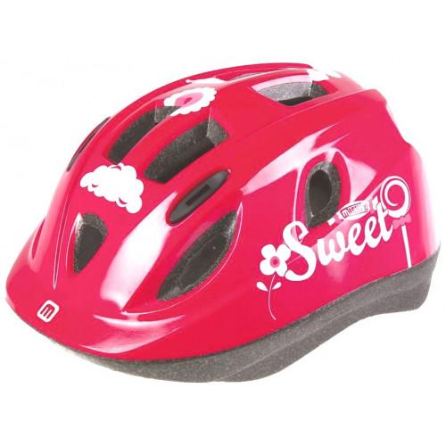 Шлем велосипедный MIGHTY JUNIOR детский, размер 48-54, розовый