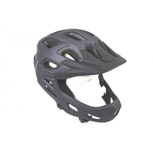 Шлем велосипедный AUTHOR CREEK FF HST BMXENDURO ABS HARD SHELL/EPS 580г