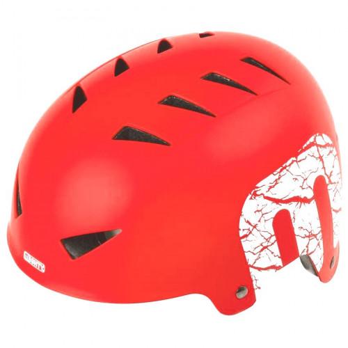 Шлем велосипедный MIGHTY X-STYLE котелок, для ВМХ/FREESTYLE, размер 54-58, красный