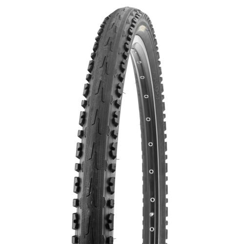 Покрышка велосипедная KENDA KROSS PLUS K847 26х1,95 (50-559), 30TPI, полуслик протектор
