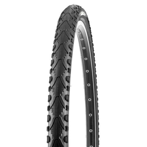 Покрышка велосипедная KENDA KHAN K935 700х35С (37-622), 30TPI, полуслик протектор, черно-белая