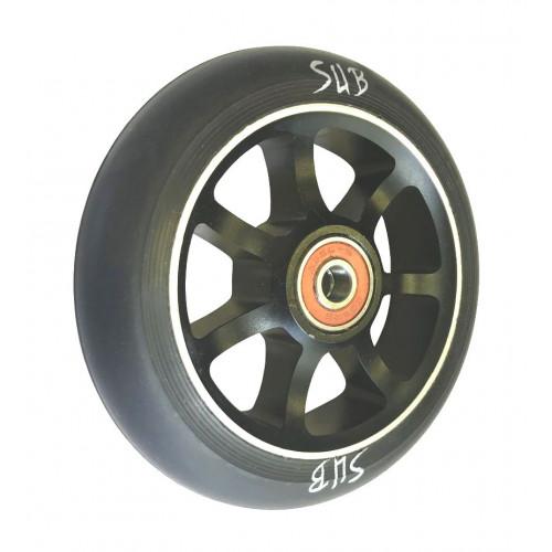 Колесо для самоката SUB трюкового, фрезерованое, алюминиевое, с подшипником ABEC9 110 мм