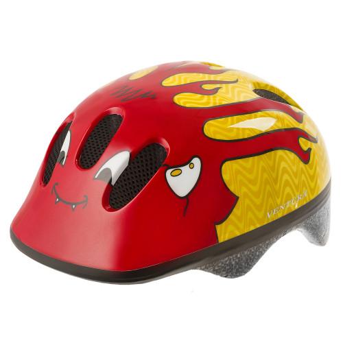 Шлем велосипедный M-WAVE KID-S детский, размер S (52-57), LITTLE DEVIL