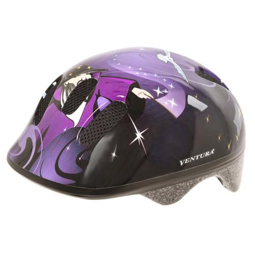 Шлем велосипедный M-WAVE KID-S детский, размер S (52-57), WIZARD