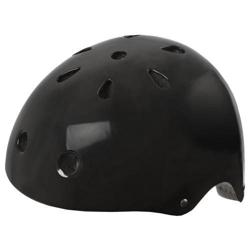 Шлем велосипедный M-WAVE LAUNCH BMX котелок, для ВМХ/FREESTYLE, размер 58-61 (L), глянц.