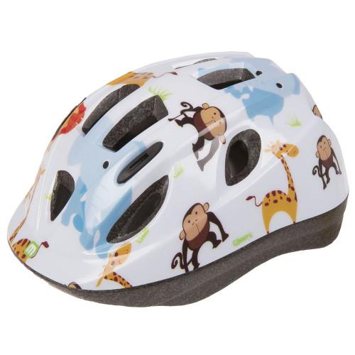 Шлем велосипедный MIGHTY JUNIOR детский, размер 54-56, белый