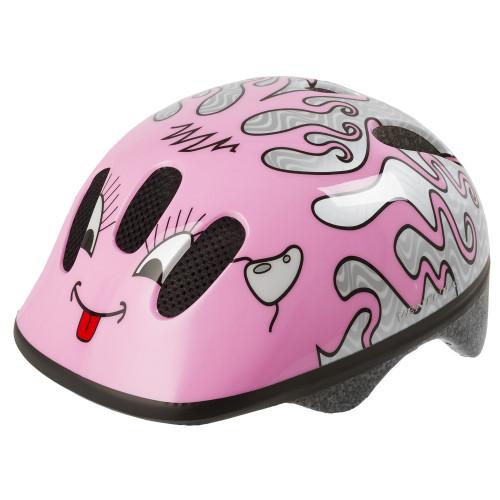 Шлем велосипедный M-WAVE KID-S детский, размер S (52-57), CURLY