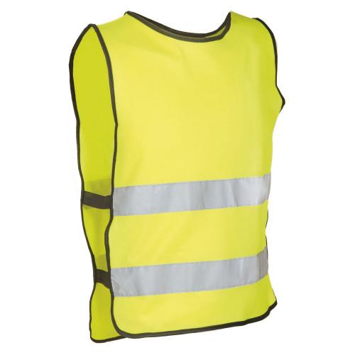 Жилет светоотражающий универсальный M-WAVE Vest Illu, S-M