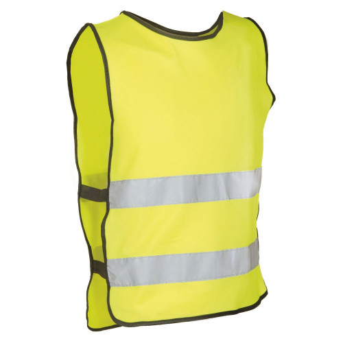 Жилет светоотражающий универсальный M-WAVE Vest Illu, XL-XXL