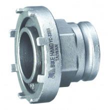 Съемник 6-190330 YC-33BB прижимного кольца электопривода Bosch Ø 60mm для ЭЛЕКТРО ВЕЛОСИПЕДОВ, серебр. BIKEHAND NEW
