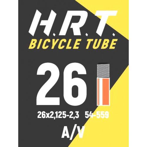 Камера велосипедная H.R.T. 26x2,125-2,35, автониппель 35мм