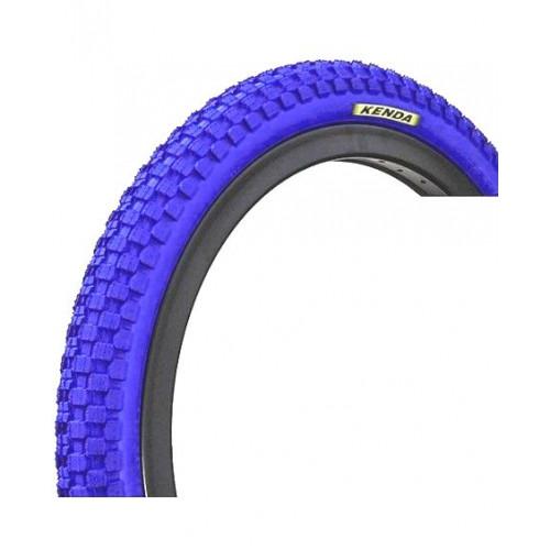 Покрышка велосипедная KENDA K-RAD K905 20х2,125 (54-406), 30TPI, городской протектор, синяя