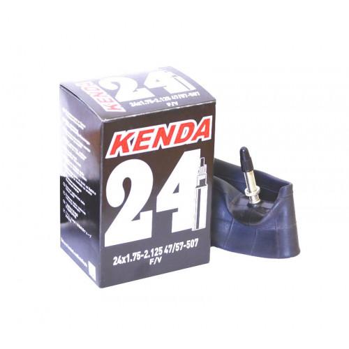Камера велосипедная KENDA 24x1,75-2,125, спорт. ниппель 32мм