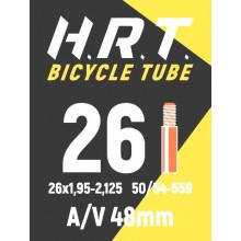 Камера велосипедная H.R.T. 26x1,95-2,125, автониппель 48мм