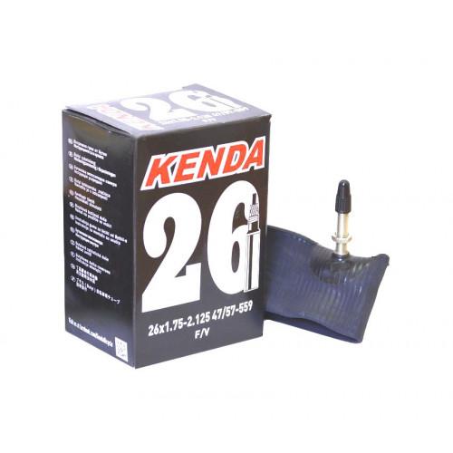 Камера велосипедная KENDA 26x1,75-2,125, спорт. ниппель 32мм