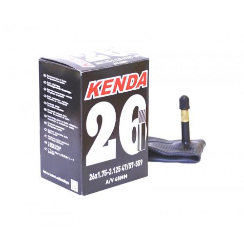 Камера велосипедная KENDA 26x1,75-2,125, автониппель 48мм