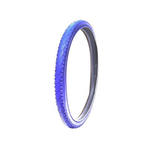 Покрышка велосипедная KENDA KHAN K935 26х1,95 , 30TPI, полуслик протектор, синяя
