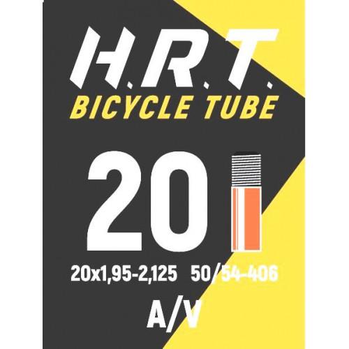 Камера велосипедная H.R.T. 20x1,95-2,125, автониппель 35мм