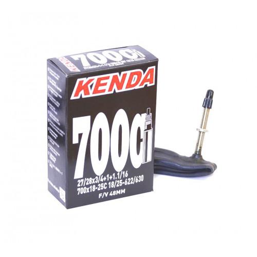 Камера велосипедная KENDA 28 700х18-25C, спорт. ниппель 48мм