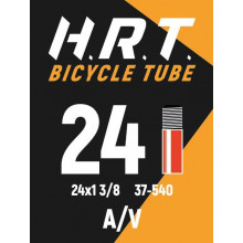 Камера велосипедная H.R.T. 24x1 3/8, автониппель 35мм