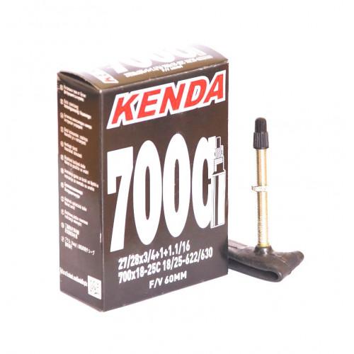 Камера велосипедная KENDA 28 700х18-25C, спорт. ниппель 60мм