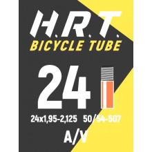 Камера велосипедная H.R.T. 24x1,95-2,125, автониппель 35мм