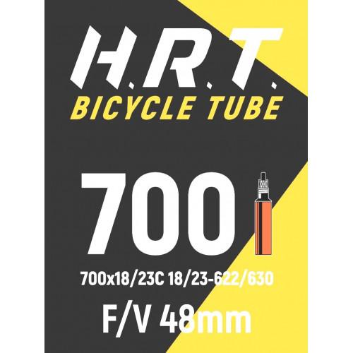 Камера велосипедная H.R.T. 28 700х18-23С, спорт. ниппель 48мм