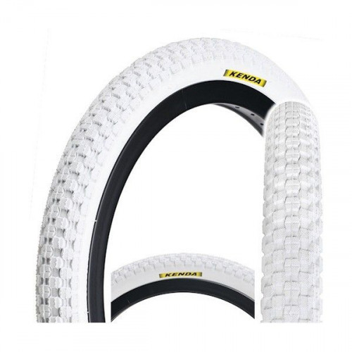 Покрышка велосипедная KENDA K-RAD K905 20х2,125 (54-406), 30TPI, городской протектор, белая