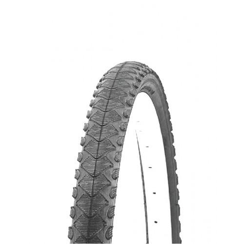 Покрышка велосипедная H.R.T. 700x42С (45-622), полуслик протектор