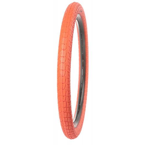 Покрышка велосипедная KENDA KRACKPOT K907 20х1,95 (50-406), городской протектор, красная
