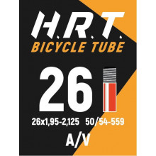 Камера велосипедная H.R.T. 26x1,95-2,125, автониппель 35мм
