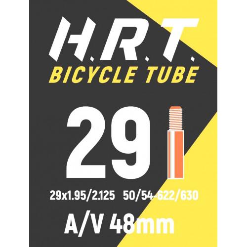 Камера велосипедная H.R.T. 29x1,95-2,125, автониппель 48 мм