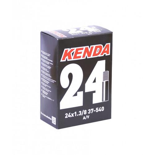 Камера велосипедная KENDA 24x1 3/8, автониппель 35мм