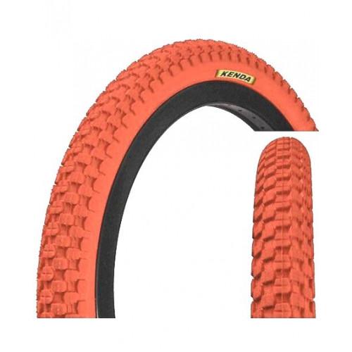 Покрышка велосипедная KENDA K-RAD K905 20х2,125 (54-406), 30TPI, городской протектор, красная