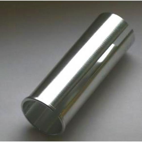 Адаптер для подседельного штыря штыря алюм. 27,2/30,2х80мм серебр.