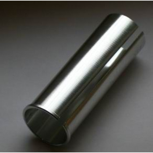 Адаптер для подседельного штыря штыря алюм. 27,2/31,4х80мм серебр.