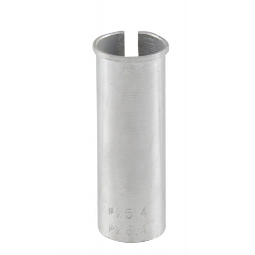 Адаптер для подседельного штыря штыря алюм. 27,2/30,9х80мм серебр.